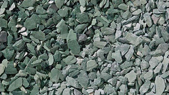 Slate Chippings 20mm and 40mm in Green