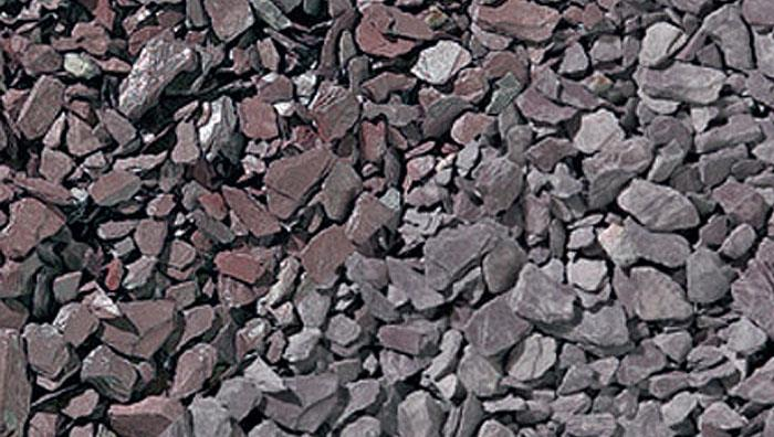 Slate Chippings 20mm and 40mm in Plum Slate