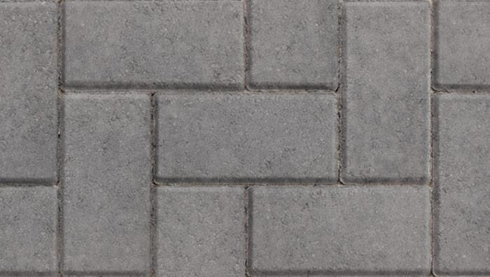 Standard Concrete Block Paving in Charcoal