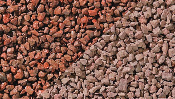 Terracotta Chippings in Terracotta