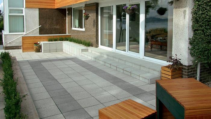 Argent Coarse Garden Paving Marshalls Co Uk