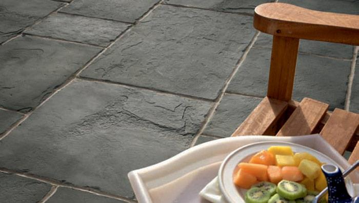 Coach House Garden Paving - Pennant