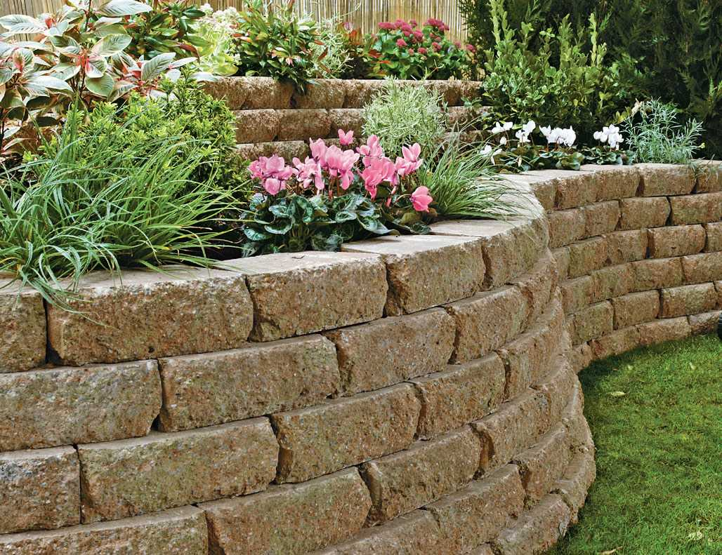 Croft stone garden walling for Gardens with rocks and stones