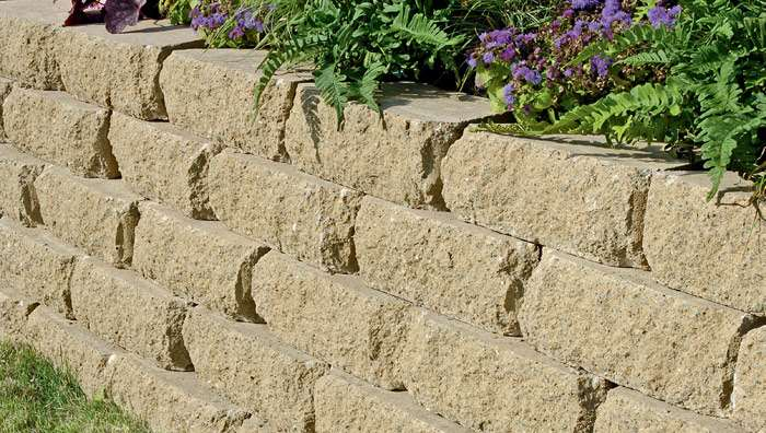 Croft Stone Garden Walling - Buff