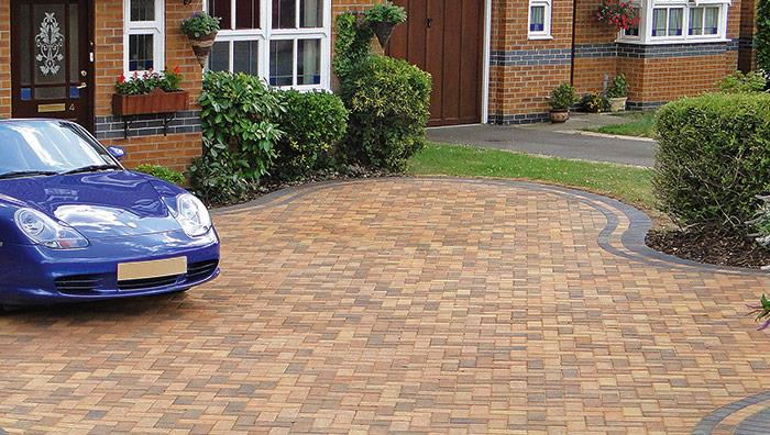 Driveline 50 Block Paving - Brindle