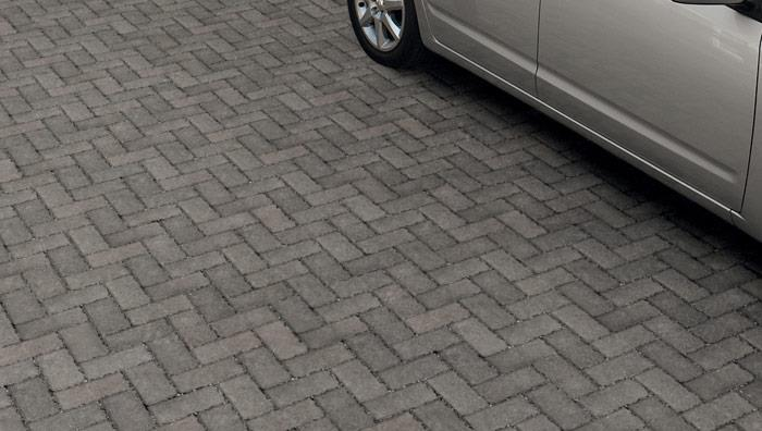 Driveline Priora Permeable Block Paving - Charcoal