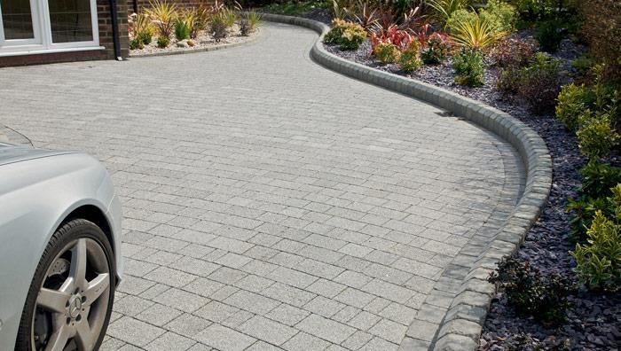Drivesett Argent Block Paving - Light