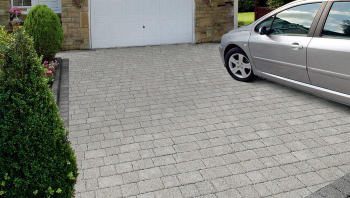 Drivesett Argent Priora Permeable Block Paving - Light