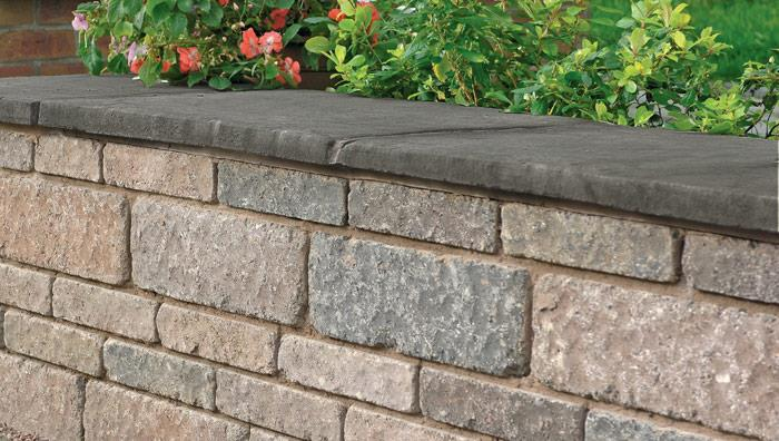 Drivesett Tegula Coping Stones and Caps - Traditional