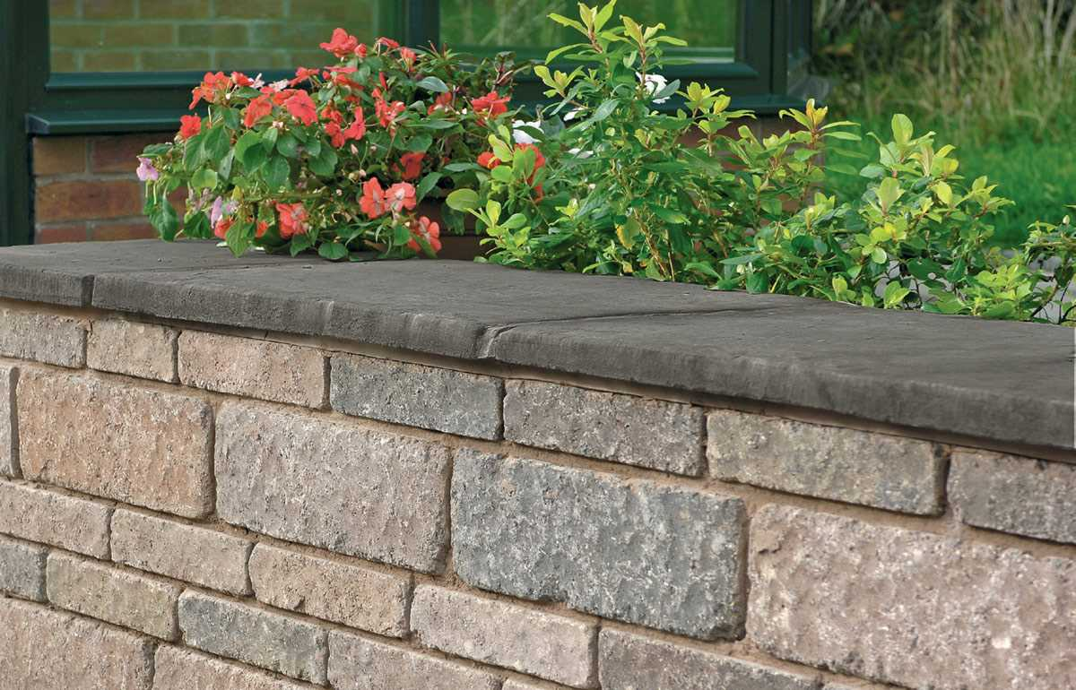 Drivesett Tegula Coping Stones And Caps   Traditional