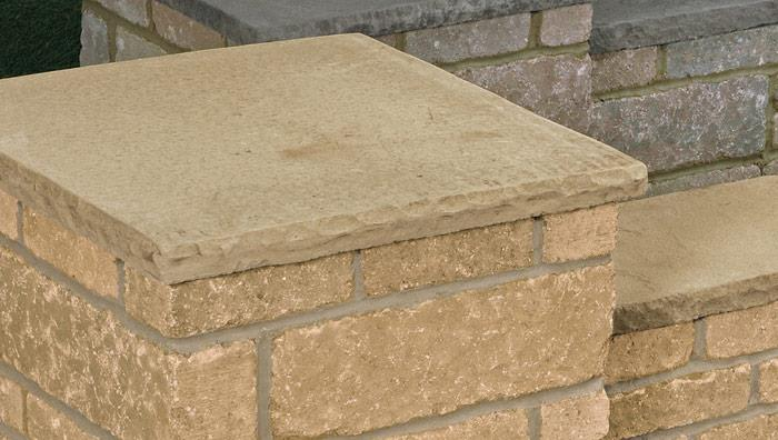 Drivesett Tegula Coping Stones and Caps - Cotswold