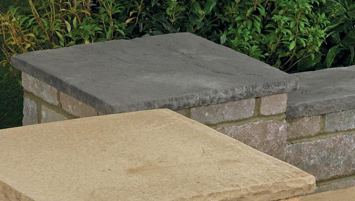 Drivesett Tegula Coping Stones and Caps - Traditional & Cotswold