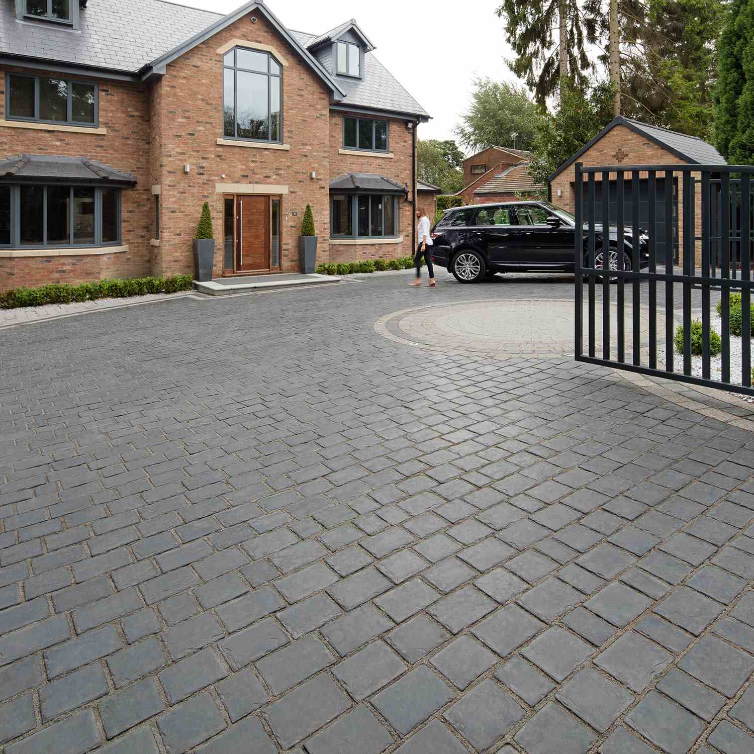 Drivesys patented driveway system split stone marshalls for New driveway ideas