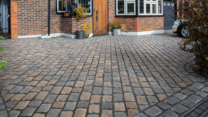 Drivesys Patented Driveway System the Original Cobble