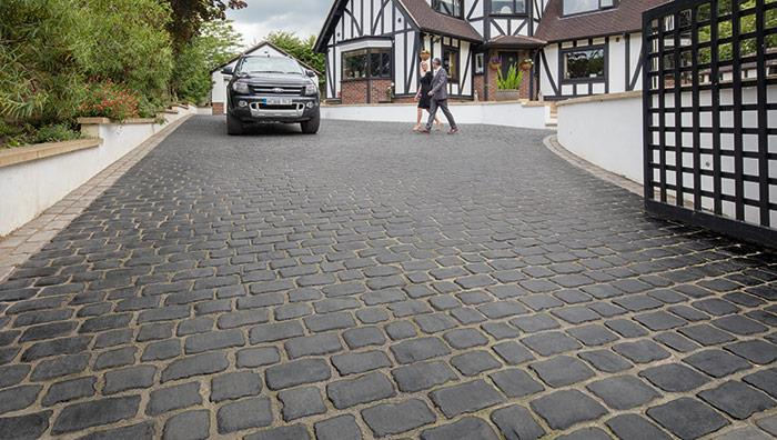 Drivesys Patented Driveway System Original Cobble