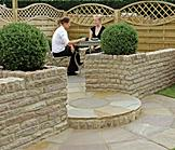Fairstone Pitched Walling