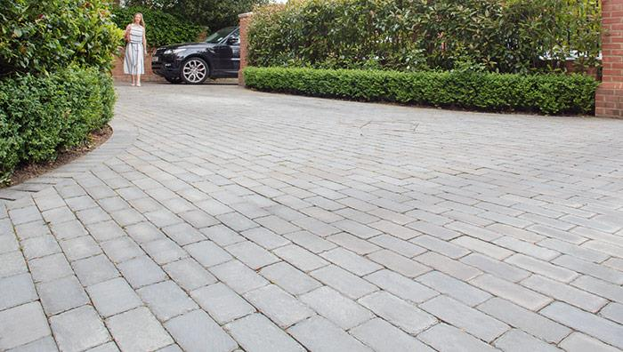 Fairstone Sawn and Tumbled Stone Setts - Silver Birch