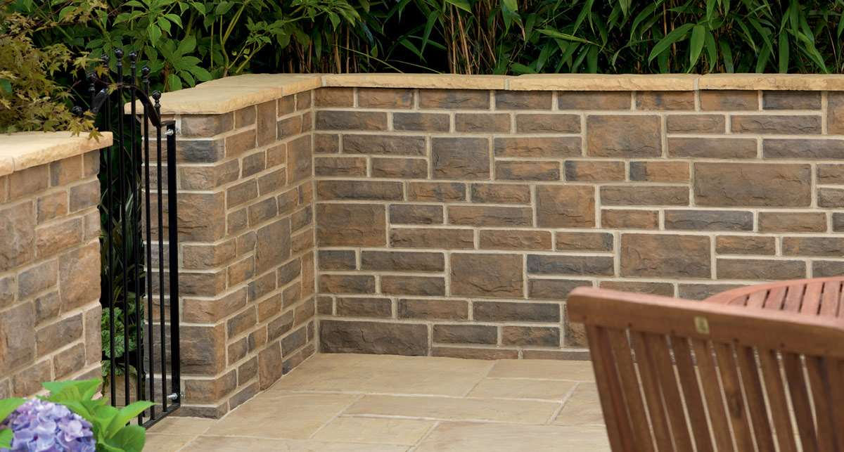 Good Heritage Riven Coping Stones   Weathered Yorkstone