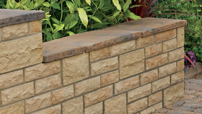 Heritage Riven Coping Stones   Yorkstone