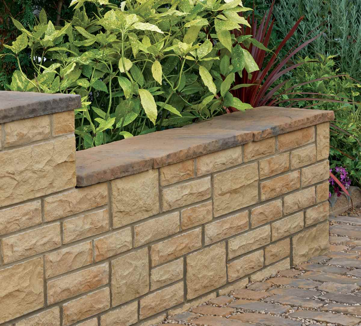 Heritage riven coping stones marshalls heritage riven coping stones yorkstone workwithnaturefo