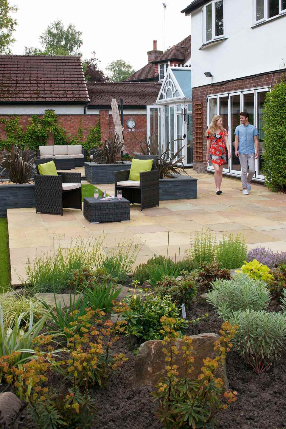 Indian Stone Paving | Indian Sandstone Paving Slabs & Patio