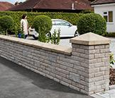 Marshalite Pitched Walling