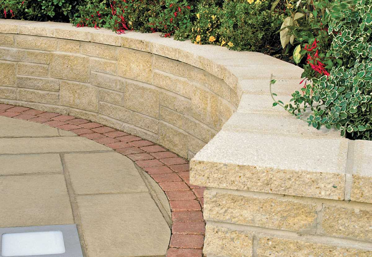 Marshalite Split Faced Garden Walling Marshalls Co Uk