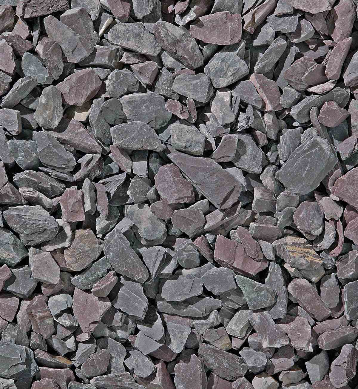 Pathway Ideas Slate Chippings Blue Plum Amp Grey Marshalls