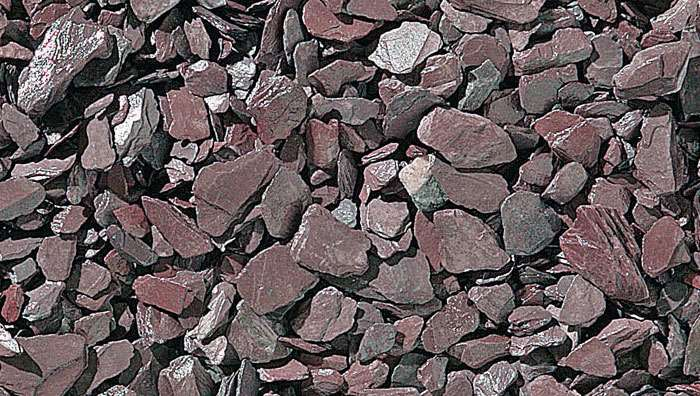 Slate Chippings 20mm and 40mm - Plum