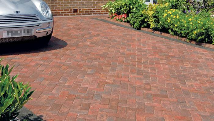Standard Concrete Block Paving - Brindle