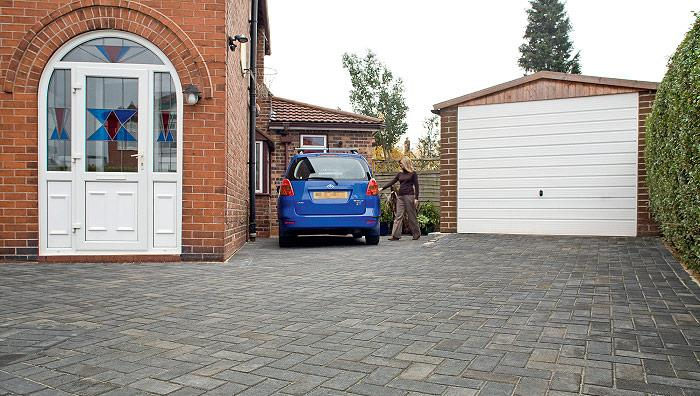 Standard Concrete Block Paving, Charcoal