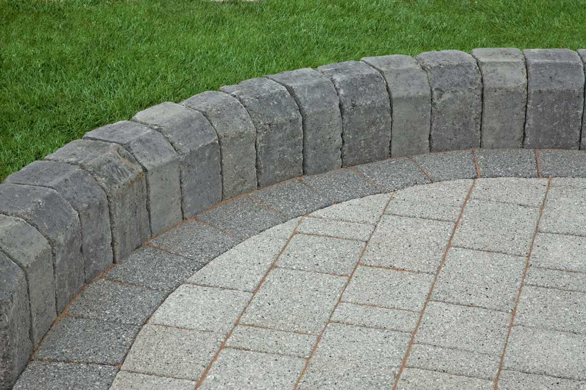 Granite Stone Edging : Tegula kerb edging marshalls