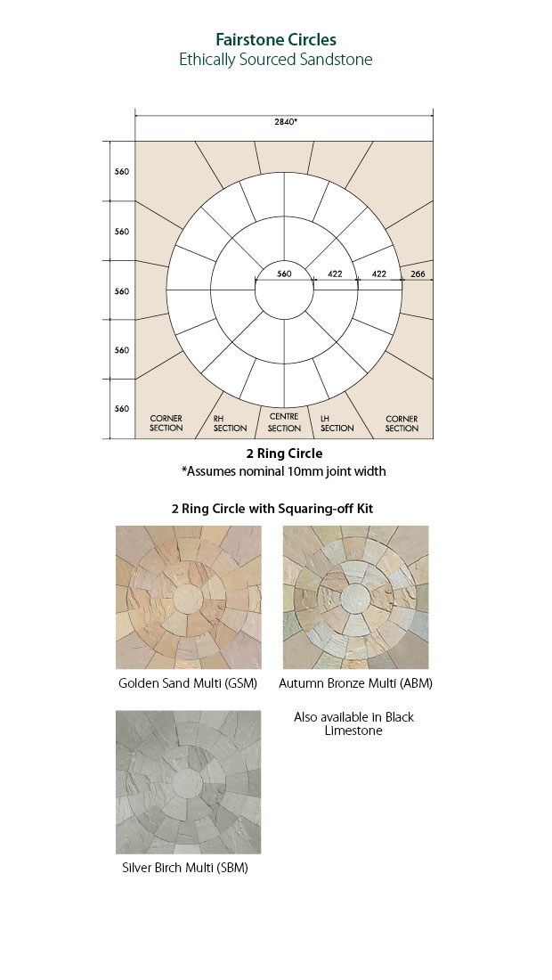 More useful information for our Fairstone Riven Harena Circles