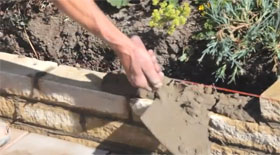 How to Build a Small Garden Wall...