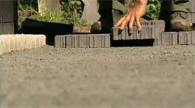 How to lay a Permeable Block Paving Driveway