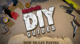 How to lay Paving...