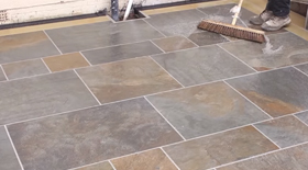 How to lay Vitrified Paving