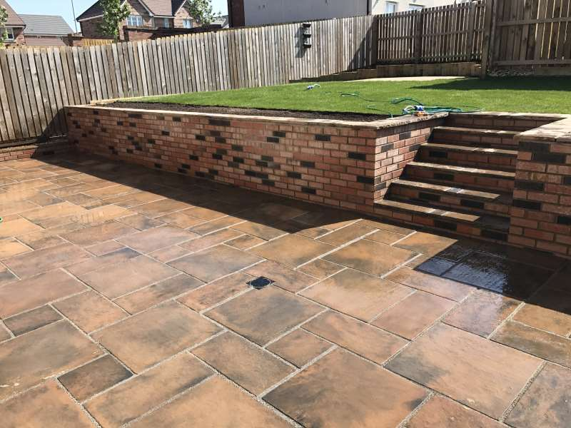 Free Garden Design Marshalls : Ferguson landscaping design marshalls accredited uk garden