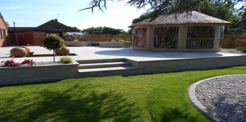 Duncan Ross Garden Design Co Marshalls Accredited Uk Garden