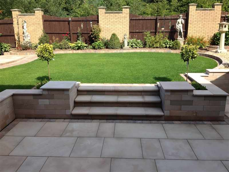 All seasons landscapes marshalls accredited uk garden for Gardening qualifications
