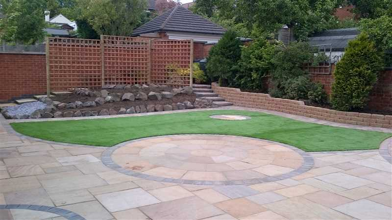 Leicestershire garden design co ltd marshalls accredited for Gardening qualifications