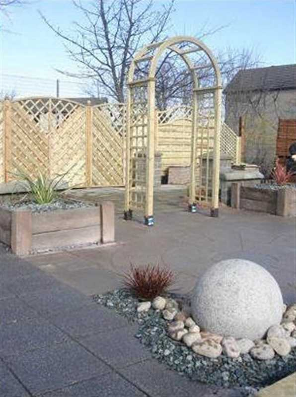 Free Garden Design Marshalls : Evergreen landscape design ltd marshalls accredited uk garden